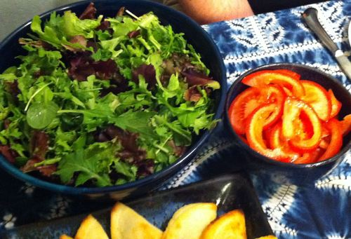 Karl's Argentinean Ensalada Mixta (Mixed Greens Salad)