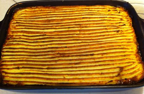 Karl's Minced Cottage Pie