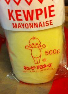 Kewpie brand Japanese mayonnaise