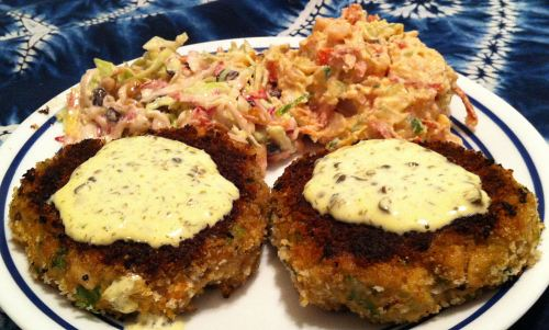 Karl's Crab and Shrimp Cakes