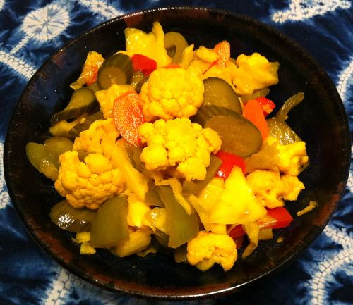Karl's Torshi, Iraqi Mixed Pickled Vegetables