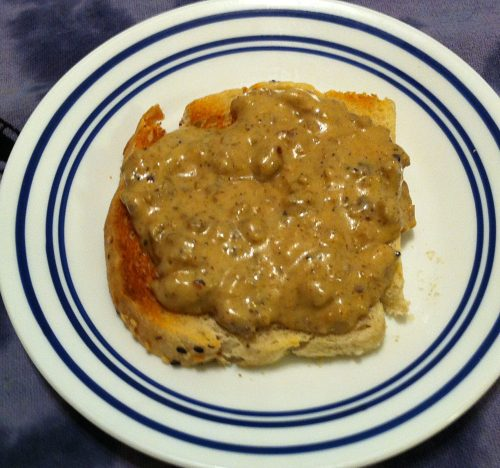 Karl's Biscuits and Sage Sausage Gravy
