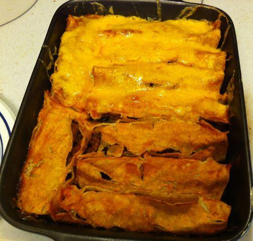 Karl's Chicken Enchiladas