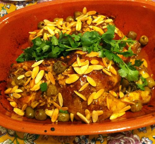 Karl's Moorish Chicken Tajine
