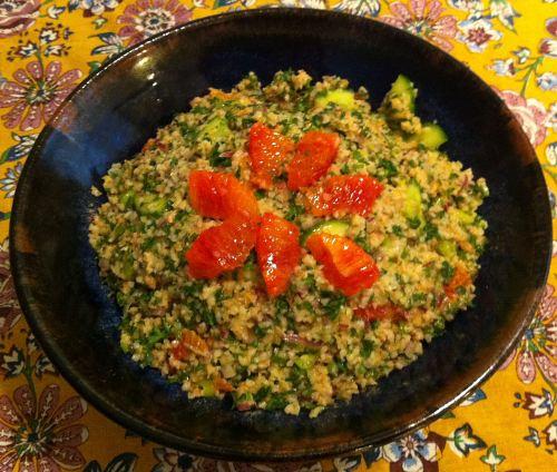 Karl's Moorish Tabbouleh