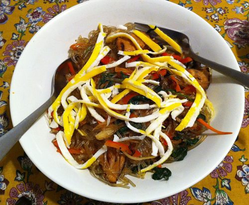 Karl's Vegetarian Japchae