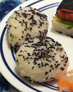 Karl's Furikake Onigiri
