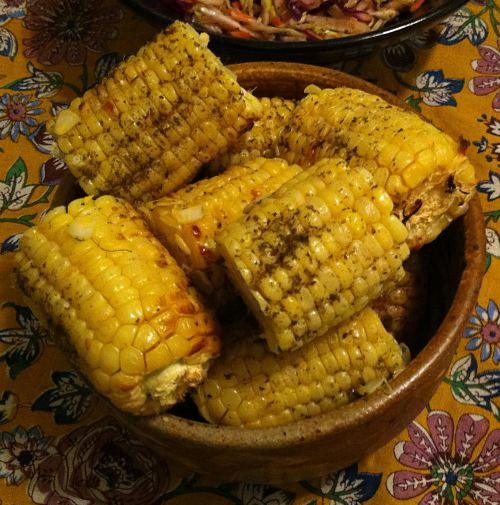 Karl's Za'atar Grilled Corn