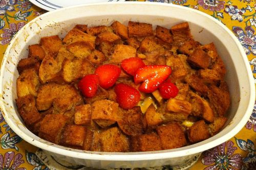 Claudia's French Toast Casserole