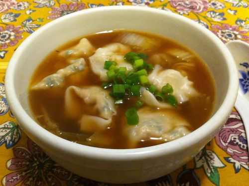 Karl's Chicken Wonton Soup