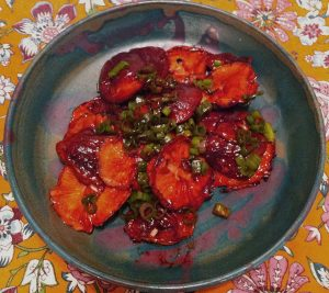 Karl's Grilled Ponzu Shiitaki Mushrooms