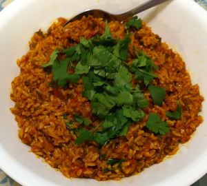 Karl's Mexican Brown Rice II