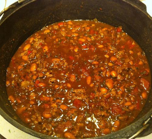 Karl's Quick Turkey Chili