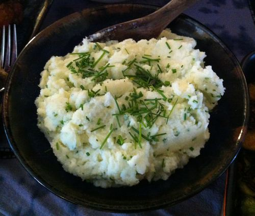 Karl's Mashed Potatoes with Chives