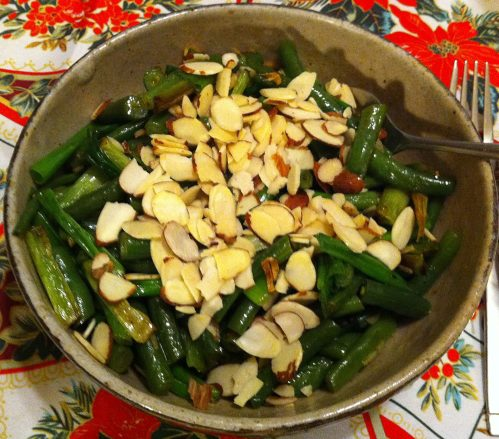 Karl's Green Beans with Green Onions