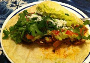 Karl's Leftover Turkey Fajita Tacos