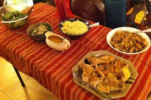Karl's Festival Feast for Chinese Guests