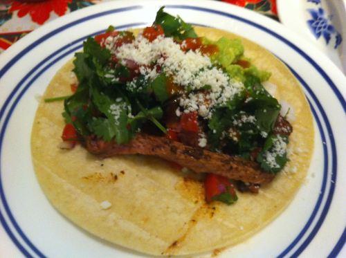Karl's Christmas Tri-tip Tacos