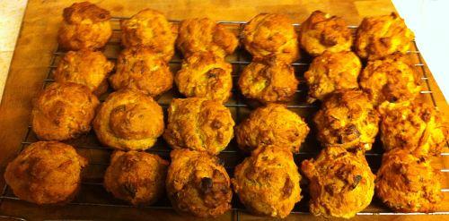 Karl's Cinnamon Banana Nut Mini-Muffins