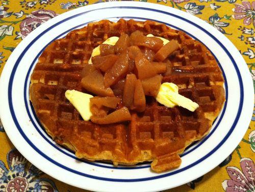 Karl's Cinnamon Waffles