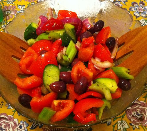 Karl's Greek Salad II