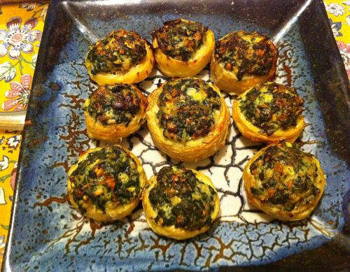 Karl's Stuffed Artichoke Caps With Greek Flavors