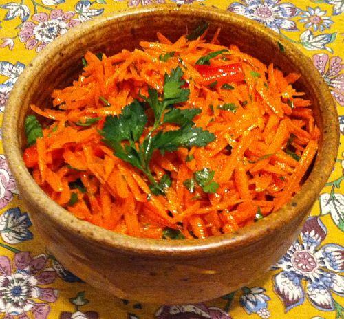 Karl's Moroccan Carrot Salad