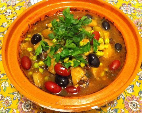 Karl's Moroccan Chicken Tajine II