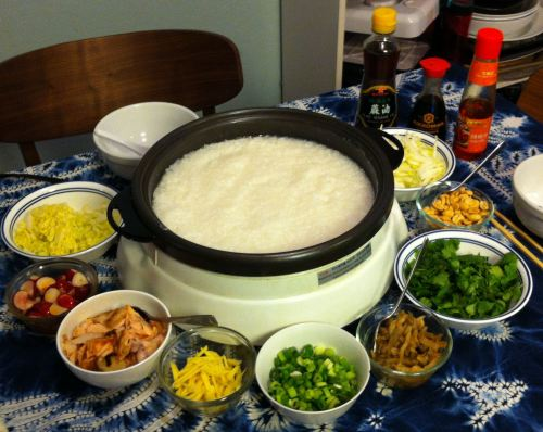Karl's Xīfàn (Chinese Rice Porridge)