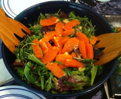 Karl's Bitter Herb Salad