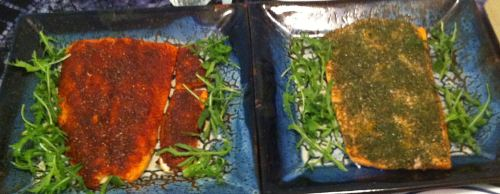 Karl's Cedar Plank Salmon with Two Dry Rubs
