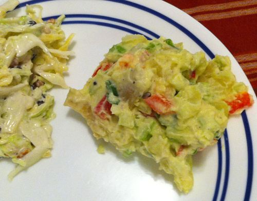 Karl's Japanese Potato Salad with Avocado
