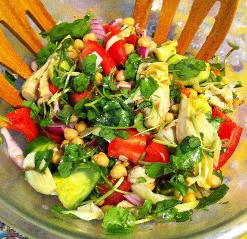 Karl's Chopped Vegetable Salad