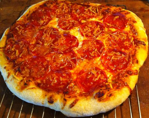 Karl's New York Style Pepperoni Pizza