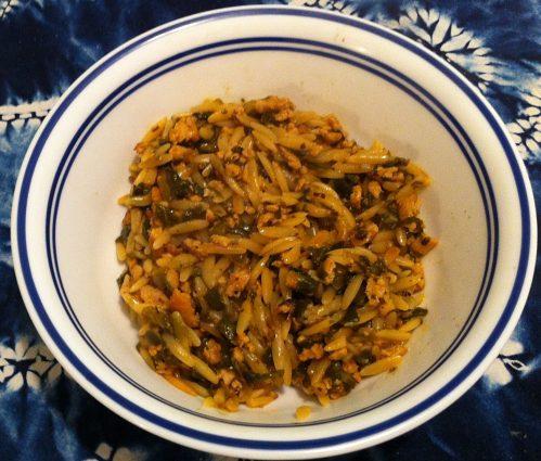 Karl's Soft Food Chicken Orzo Italiano