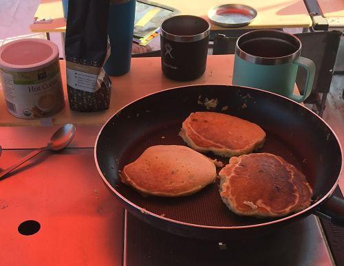 Karl's Blueberry Pancakes for Burning Man