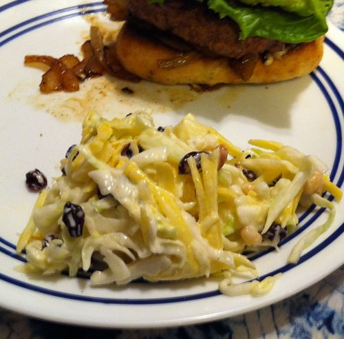 Karl's Coleslaw with Apple and Pine Nuts