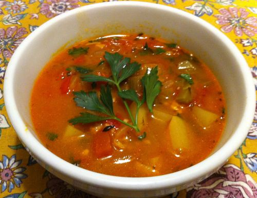 Karl's Manhattan Clam Chowder