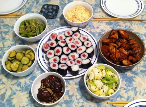 Karl's Japanese Sunday Dinner