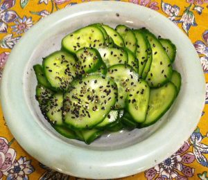 Karl's Japanese Lightly Marinated Cucumbers