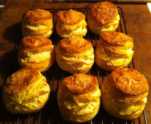 Karl's Egg Biscuits