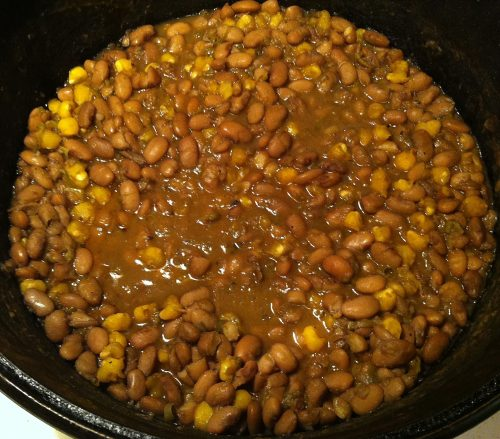 Karl's Pinto Beans and Hominy