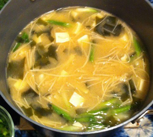 Karl's Tofu Miso Soup
