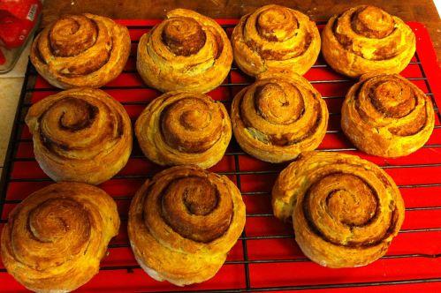 Karl's Cinnamon Pinwheel Biscuits