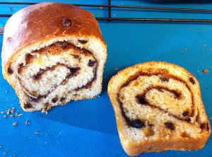 Karl's Cinnamon-Swirl Currant Bread the Ideal Swirl