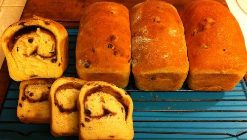 Karl's Cinnamon-Swirl Currant Bread