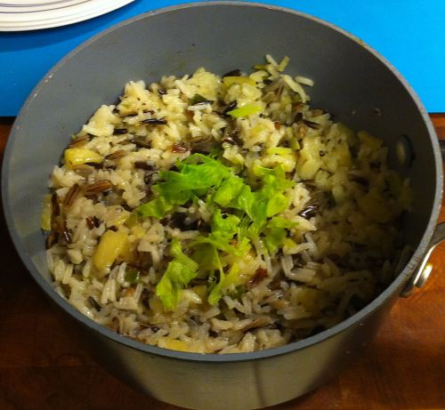 Karl's Apple Wild Rice Pilaf