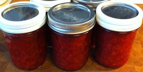 Karl's Low Sugar Ginger Strawberry Jam II