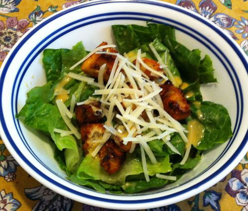 Karl's Caesar Salad without Garlic