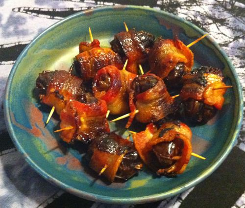 Karl's Bacon Wrapped Medjool Dates Stuffed with Chorizo